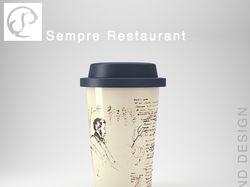 """Фирменный стиль кофейни """"Sempre"""""""