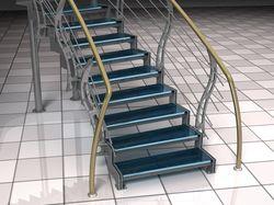 Лестница в гостиницу