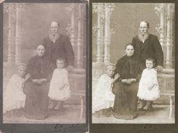Восстановление/реставрация старых фотографий