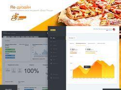 Редизайн админ-панели сети До-До пицца