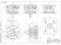 Проектирование пресс-формы для литья