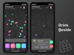 Drink Beside (Dark Theme) - ios app