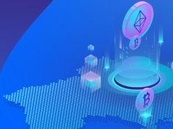 Баннер для криптобиржи