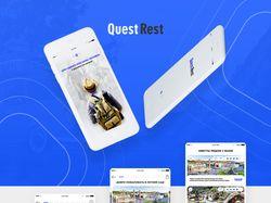 Дизайн мобильного приложения QuestRest