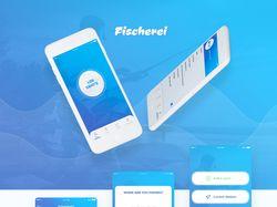 Редизайн мобильного приложения Fischerei