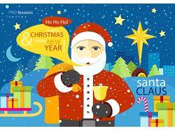 Flat-иллюстрации: праздники (3 комплекта)