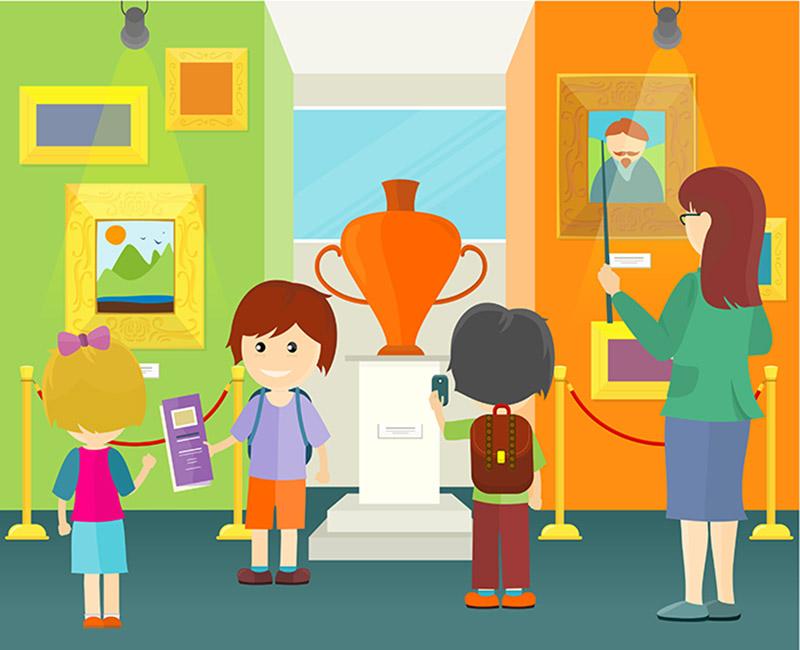 Экскурсия в картинках для детей