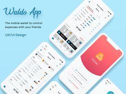 Waldo. UX/UI design mobile app