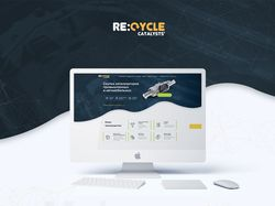Дизайн сайта RecycleCatalysts
