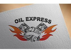 """Отрисовка логотипа для фирмы """"OilExpress"""""""