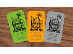 личные визитные карточки/рисунок