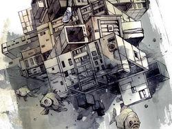 """Иллюстрация для афиши к фильму """"Спасение утопающих"""