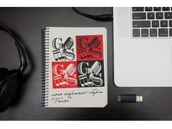"""Разработка логотипа для караоке-бара """"Голос"""""""