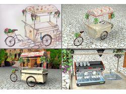 Модель велокофейни