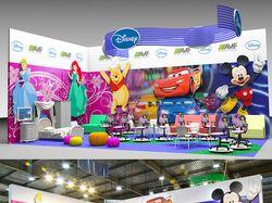 Визуализация выставки. Модель и фото с мероприятия