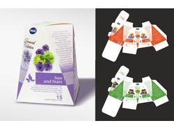 Дизайн серии чайной упаковки ТМ ПРЕМИЯ