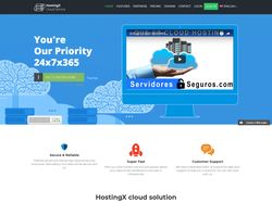 HostingX Cloud Service