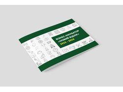 Дизайн брошюры с инфографиками