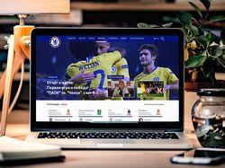 Сайт для фанатов Chelsea