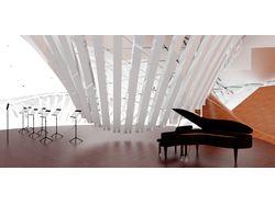 Интерьер и Экстерьер концертного зала