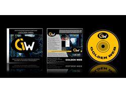 Дизайн дисков компании Golden Web