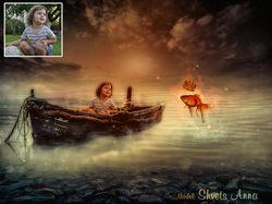 Сказочный коллаж для ребенка
