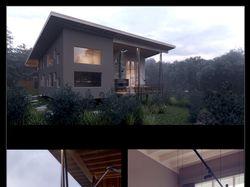 Интерьеры дома с террасой 300+40 м.кв.