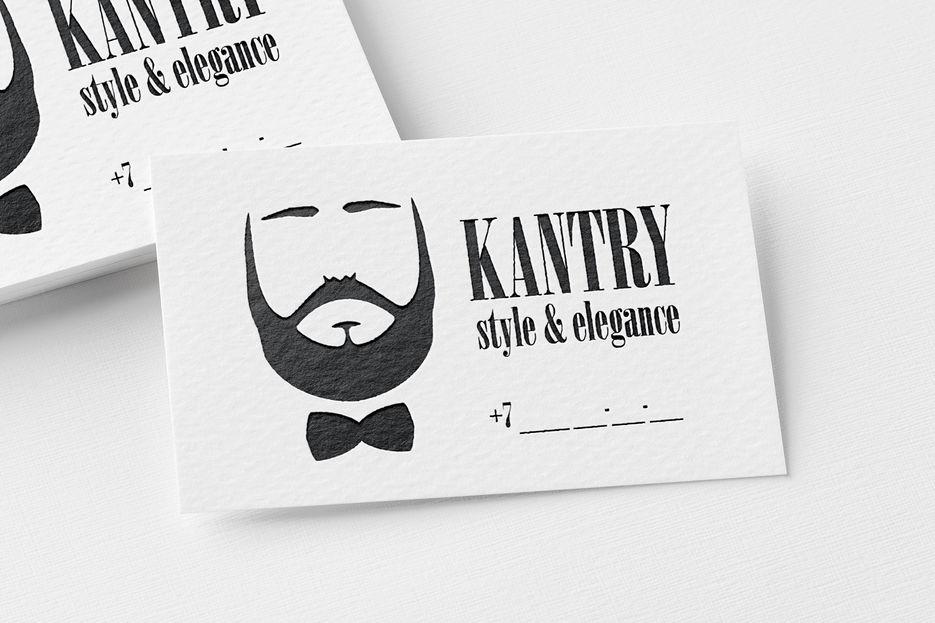 """Визитка """"Kantry"""""""