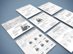 Продажа погрузчиков «JAC» — Сайт с каталогом