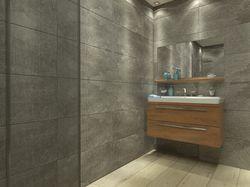 Ванная комната, реклама керамической плитки