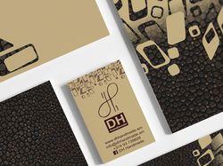 Фирменный стиль ювелирного бренда DH handmade