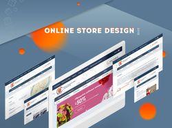 Online store design / MAGICCARD