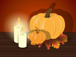 "Иллюстрация для сайта на тему ""Thanksgiving day"""