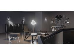 3D-визуализация коллекции мебели