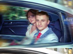Художественная свадебная ретушь