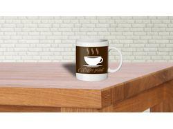 """Логотип для кофейни """"Coffee point"""""""