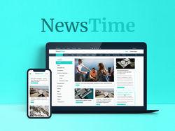 """Информационный портал """"NewsTime"""""""