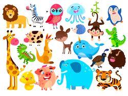Иллюстрация животные