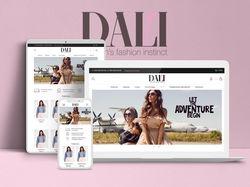 """Интернет-магазин """"DALI"""""""
