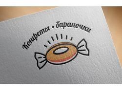Логотип для магазина сладостей
