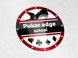 лого школа покера