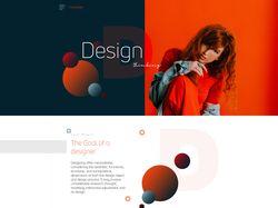 Web-дизайн сайта.