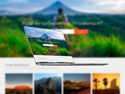 Дизайн сайта / Лендинг - туры, путешествия