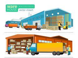 Векторные flat-иллюстрации (5 комплектов)