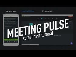 Видеогайд по сервису Meeting Pulse
