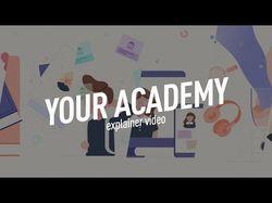 """Эксплейнер для сайта """"Твоя Академия"""""""