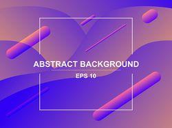 Абстрактный векторный фон. / Abstract vector backg