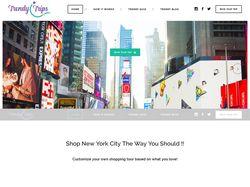 Shopping tour website