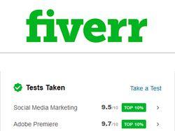 Теcты для Fiverr