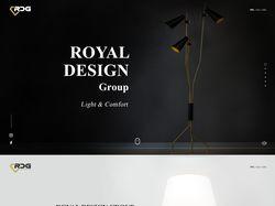 Дизайн интернет-магазина RDG GROUP